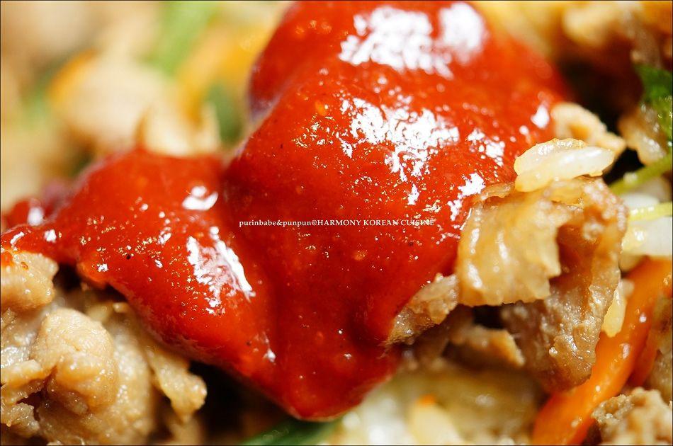 32辣炒豬肉拌飯4