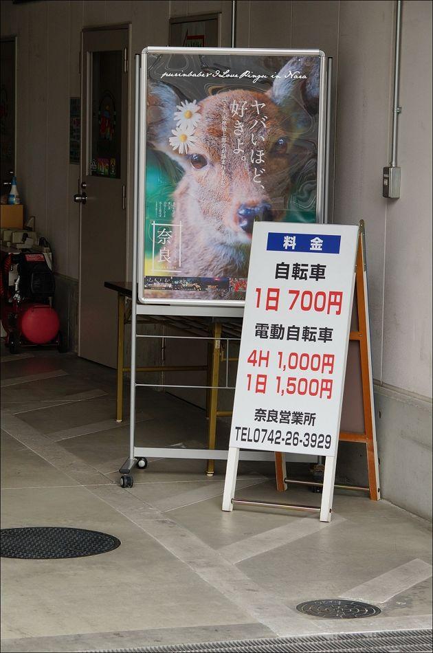 4奈良租腳踏車3