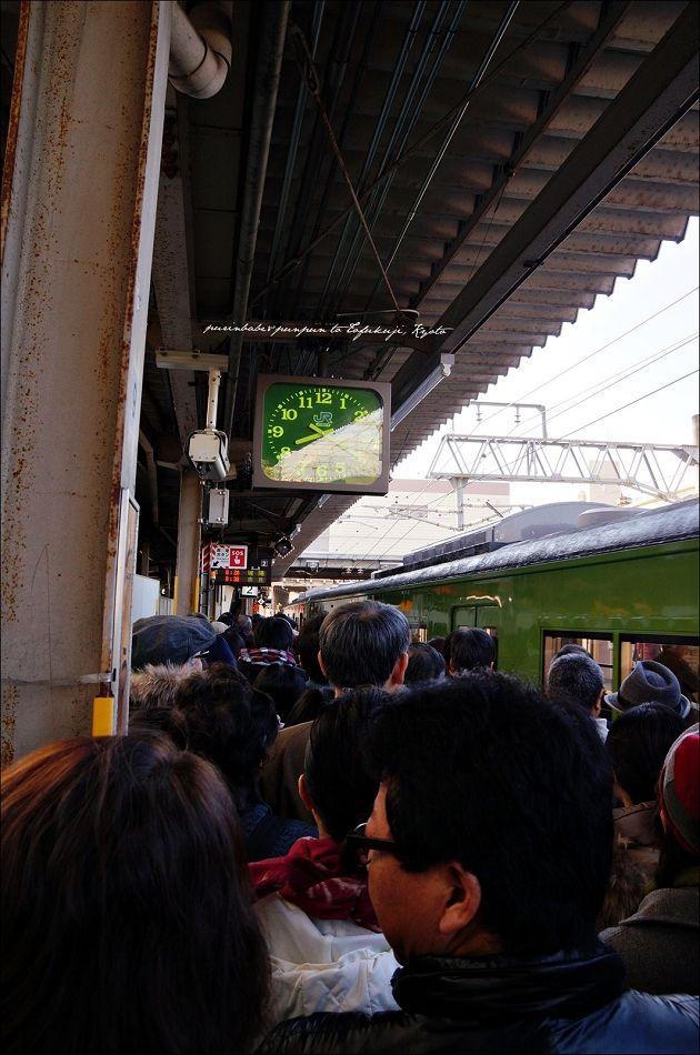 4抵達東福寺站