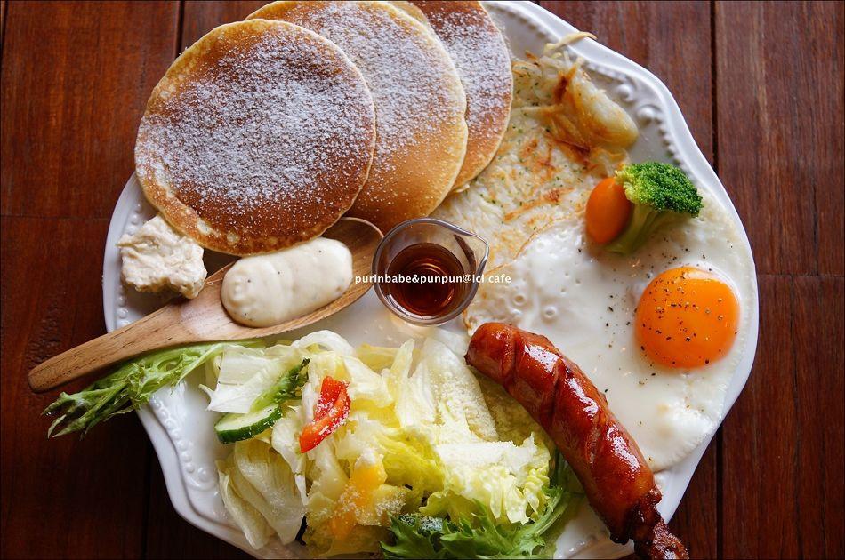 29煎餅佐楓糖核桃乳酪早午餐2