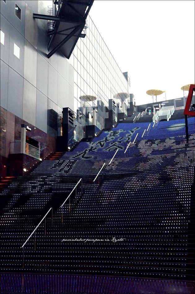 4京都車站櫻花跑馬