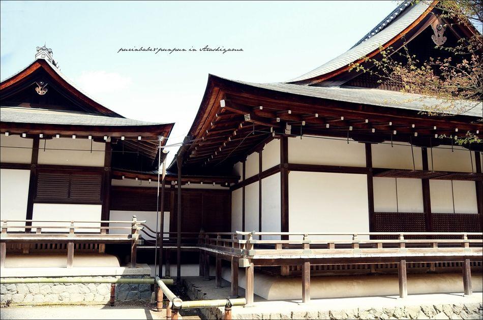 16天龍寺庭園建築2