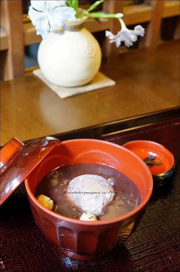 27黑米餅紅豆湯