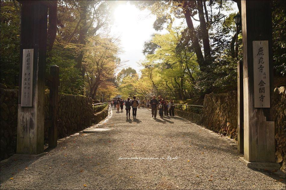 25金閣寺入口