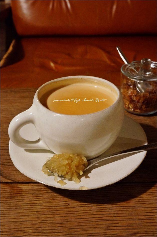 34薑汁奶茶