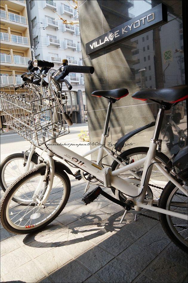 2village kyoto租腳踏車