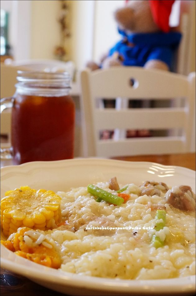 30普羅旺斯奶油嫩雞燉菜燉飯附飲料