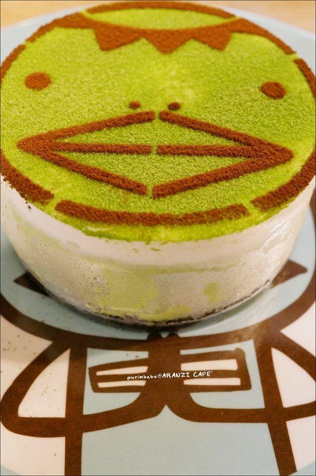 33河童君紅豆抹茶幕司蛋糕1