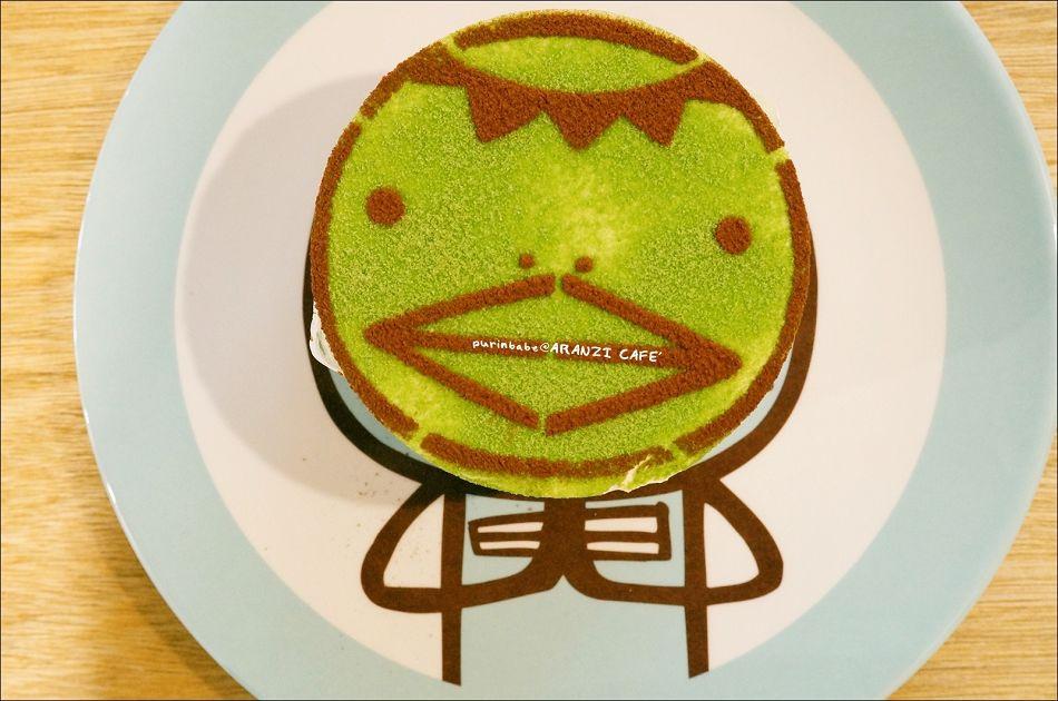 34河童君紅豆抹茶幕司蛋糕2