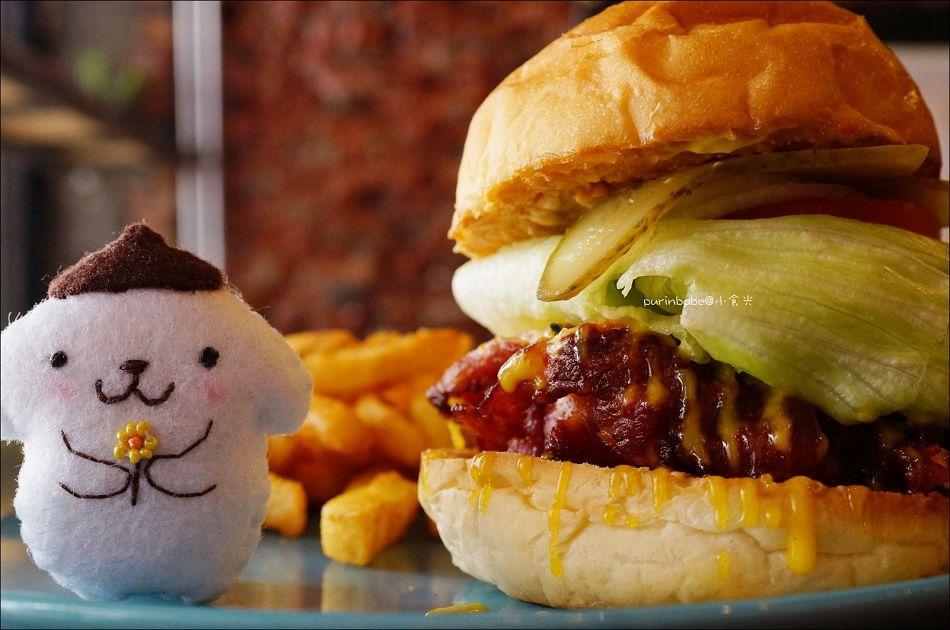 34美式花生培根漢堡2