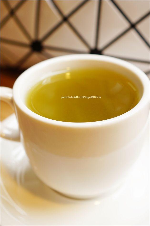 23熱綠茶