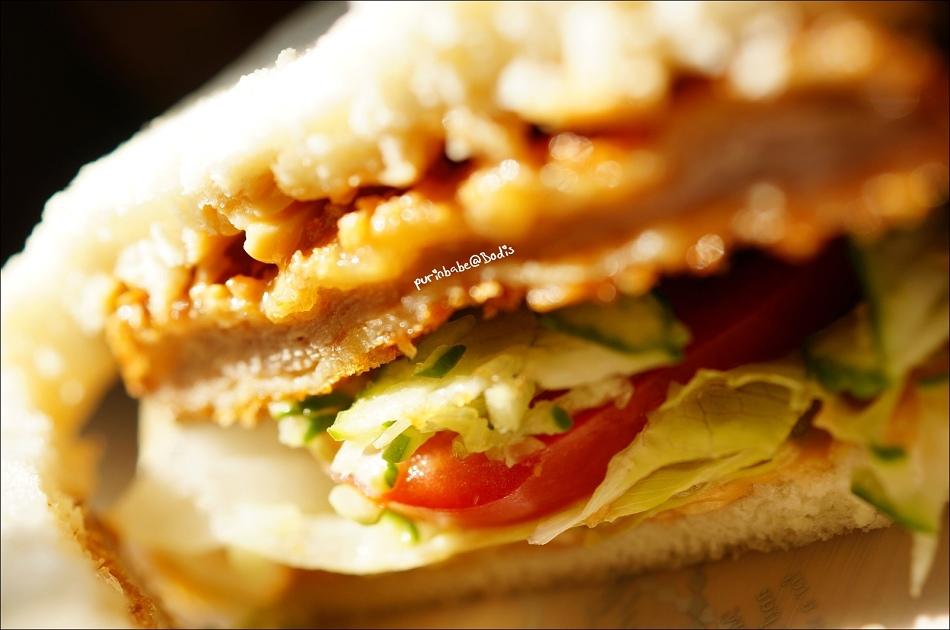 24花生醬豬排三明治3