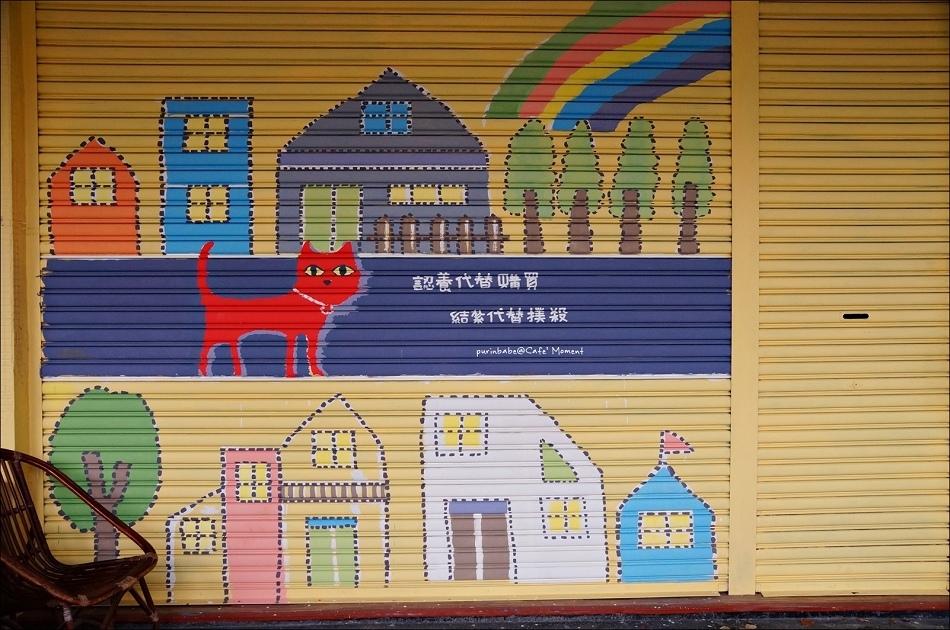 3彩繪鐵門