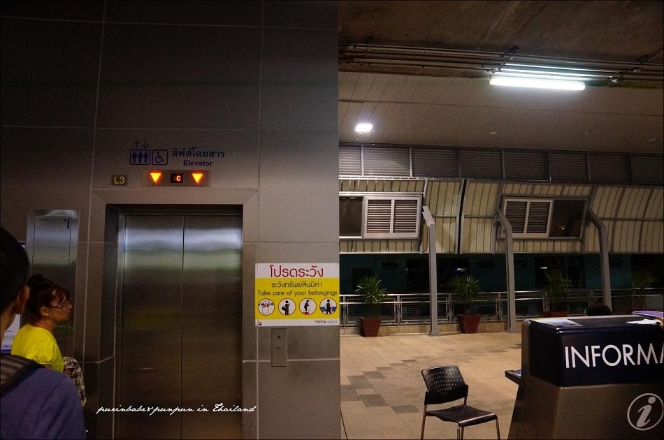 8Phaya Thai站搭電梯下樓接BTS