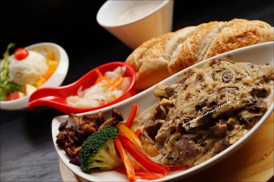 31義式磨菇牛肉套餐