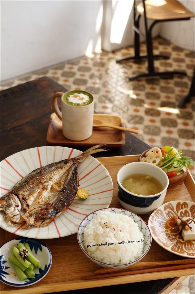 35竹筴魚一夜干換購抹茶咖啡熱拿鐵