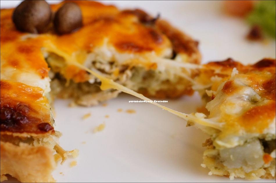 26青醬乳酪野菇雞肉派2