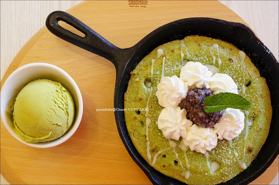 25紅豆麻糬抹茶鬆餅1