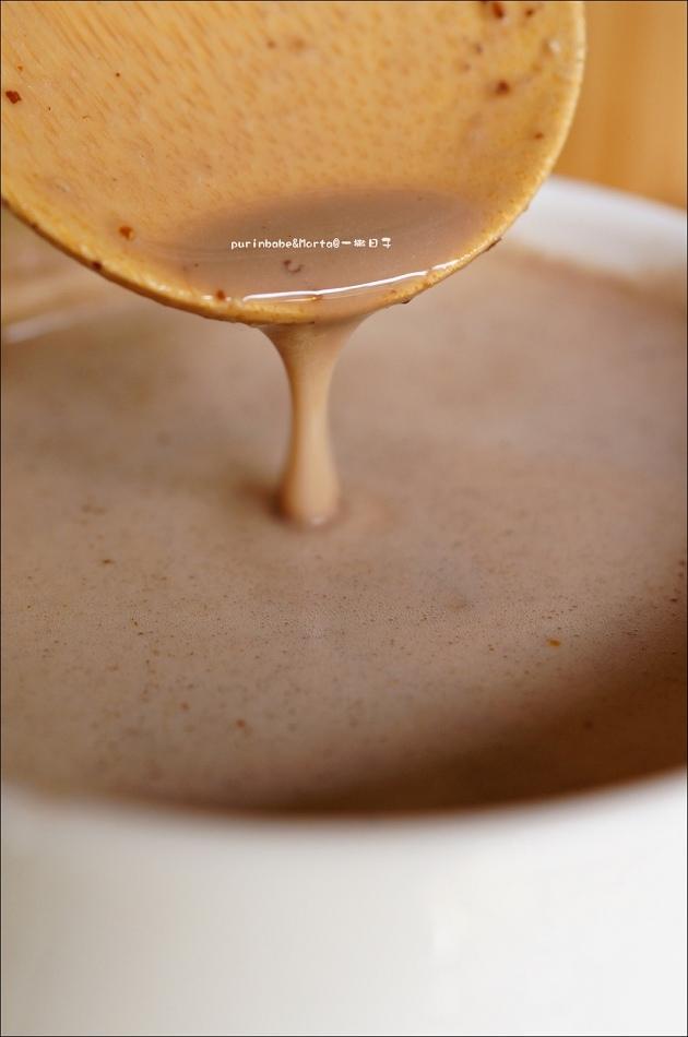 17熱亞麻可可黑豆漿