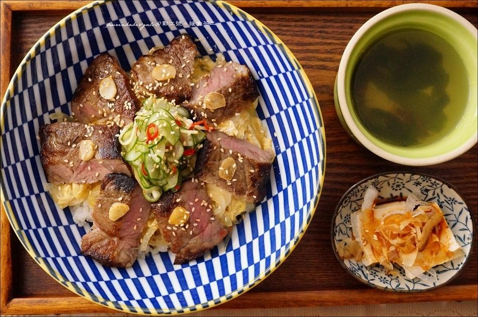 35炙烤牛排丼1