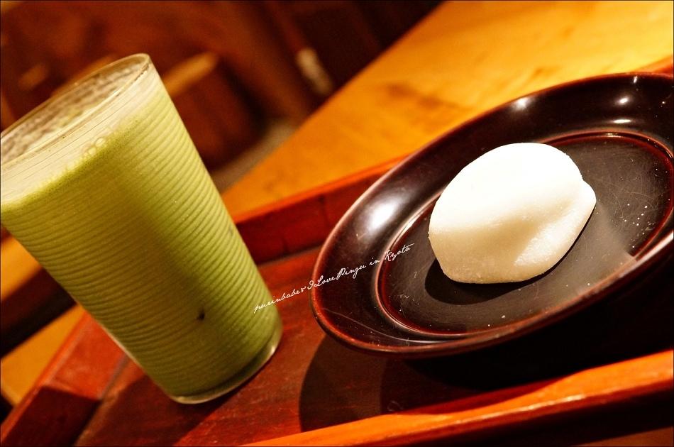 19抹茶大福+抹茶牛奶