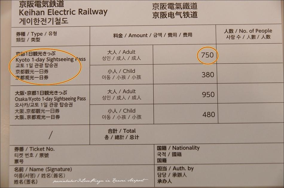 6關空購買京阪電鐵3