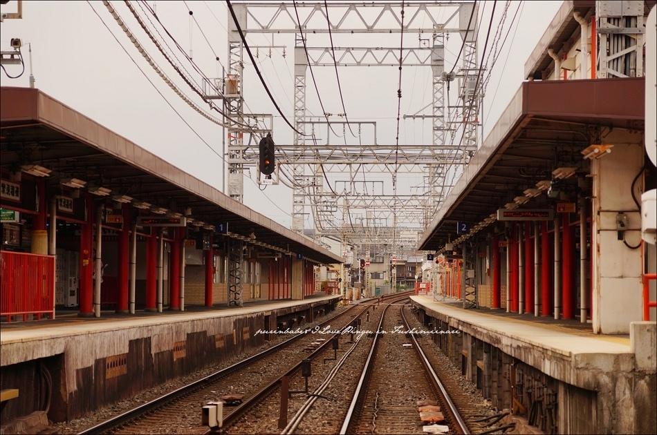 3京阪電車伏見稻荷站2