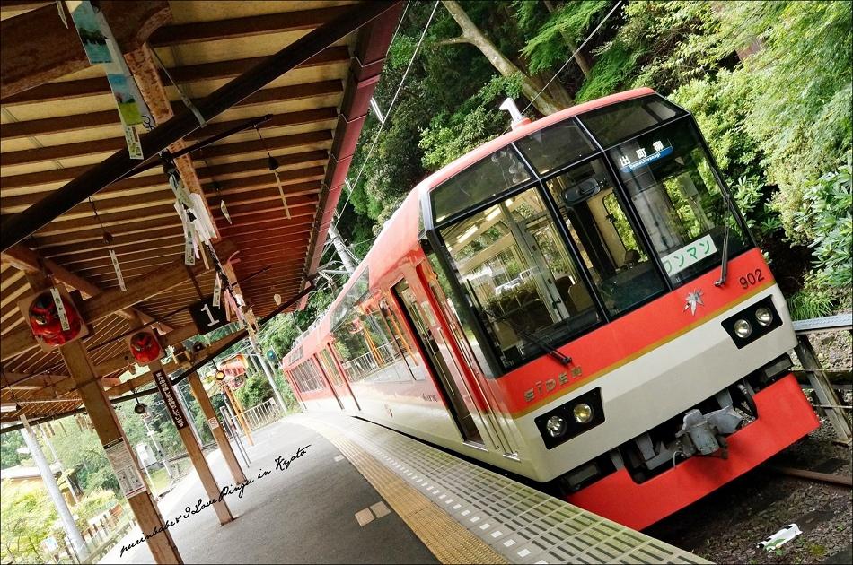 52離開叡山電車鞍馬站