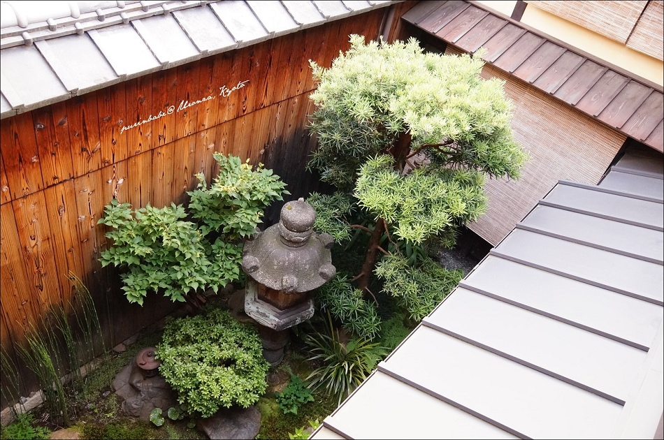 28俯視一樓庭院