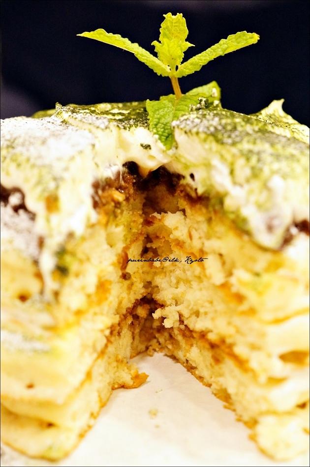 19抹茶提拉米蘇鬆餅斷面1