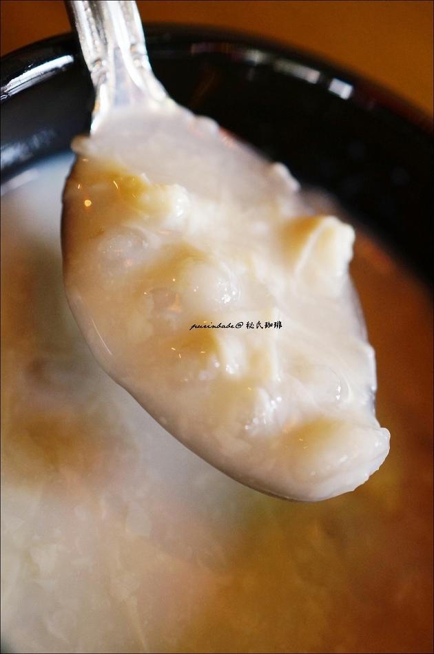 30腐竹薏仁雞蛋糖水