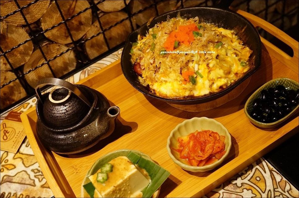 28日式明太子培根起司廣島燒附開胃菜與土瓶蒸