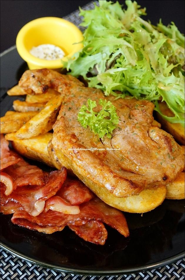 19羅姆風格烤豬排附煎培根與炸薯塊2