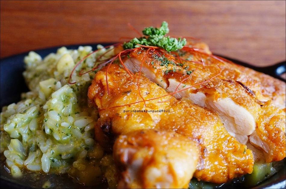 42羅勒嫩煎雞腿排燉飯2
