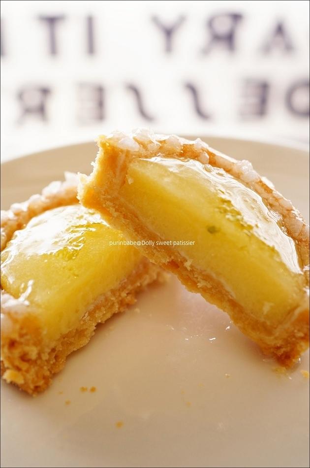 24法式檸檬塔斷面