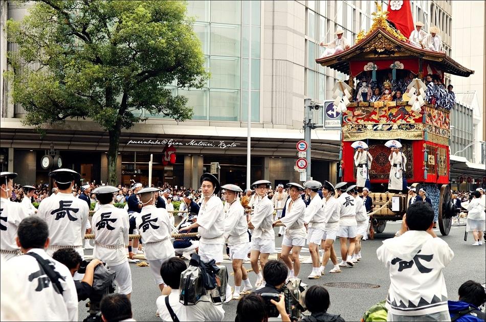 1京都祇園祭前祭山鉾巡行