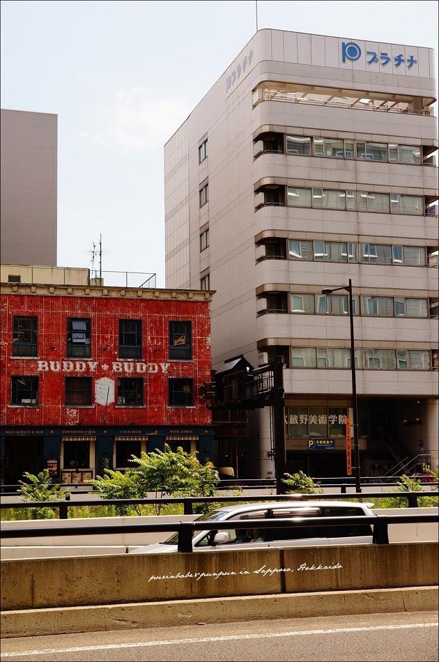 4Hotel Monterey Edelhof Sapporo位置