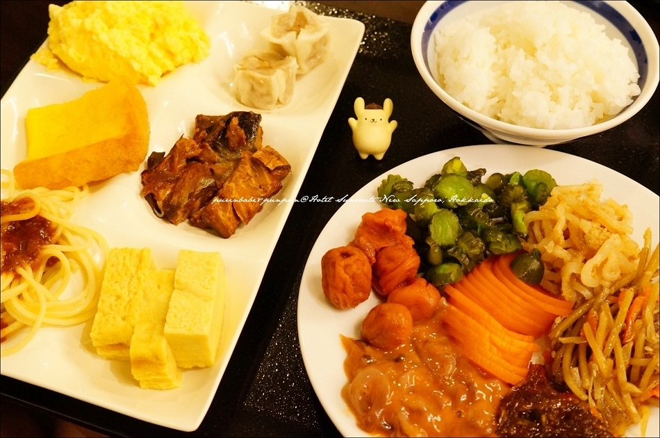 22Hotel Sunroute New Sapporo早餐