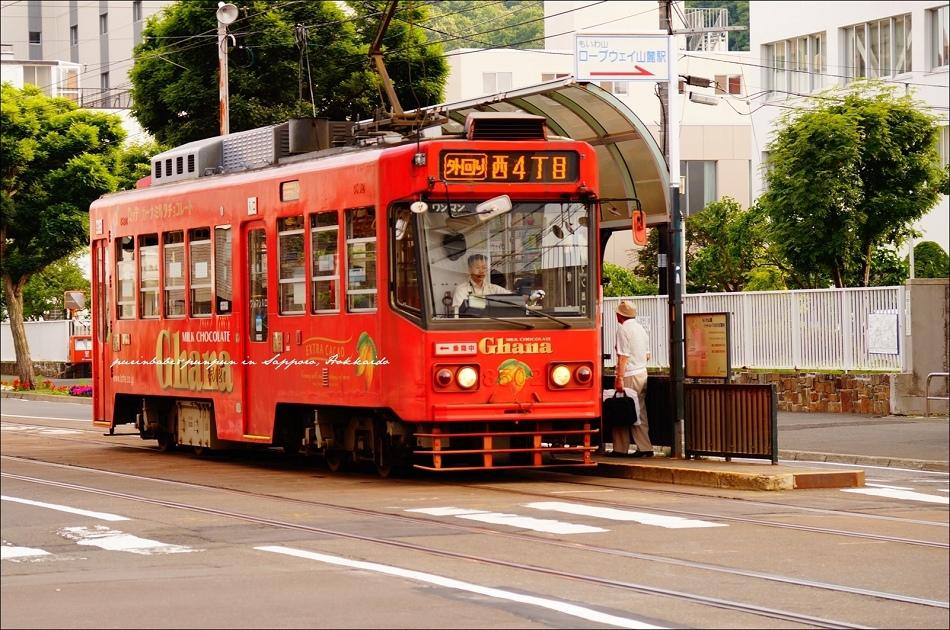 3搭市電前往纜車站