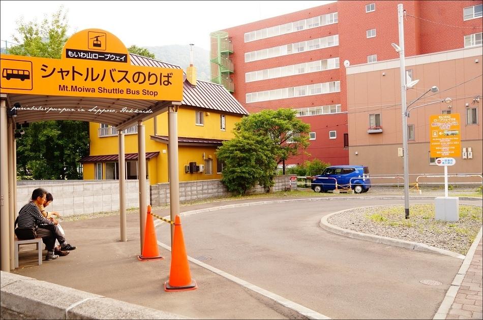 4札幌藻岩山接駁車候車區