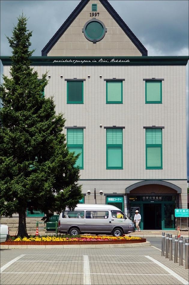 3美瑛車站周邊建築物1