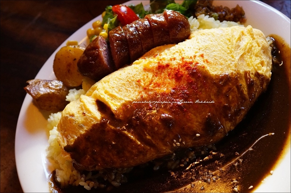 20自製香腸蛋包飯咖哩2