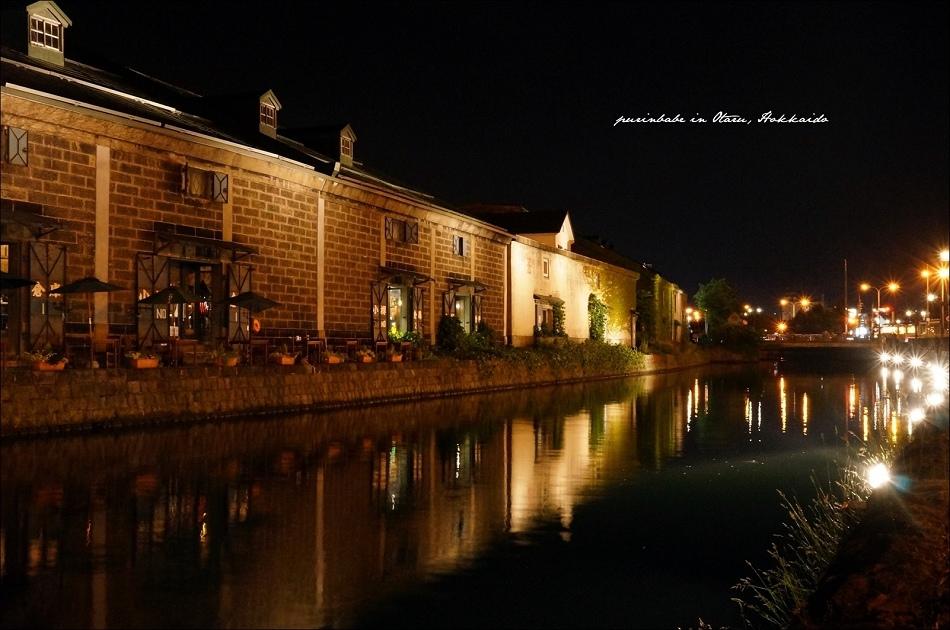 7小樽運河夜景4