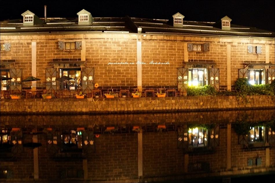 6小樽運河夜景3