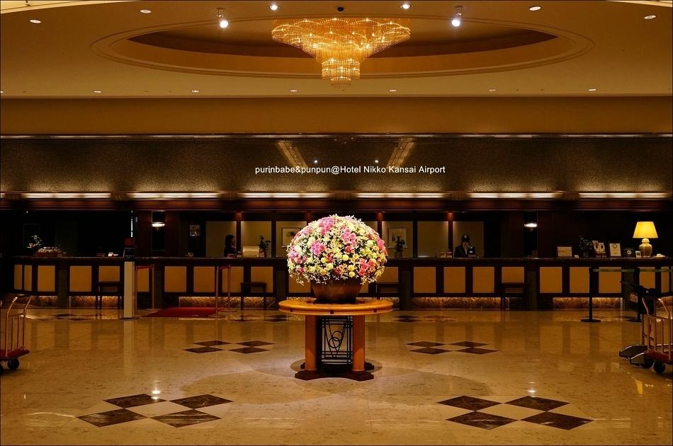 7關西機場日航酒店lobby2