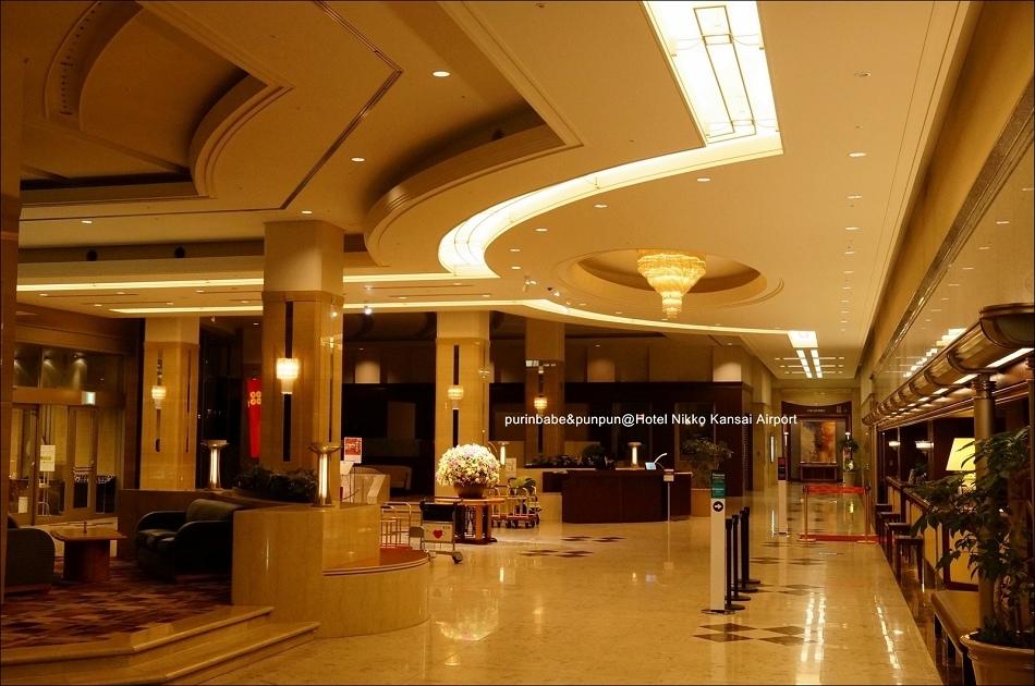 6關西機場日航酒店lobby1