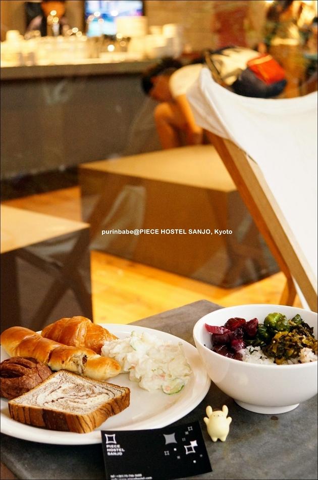 36Piece  Hostel Sanjo早餐