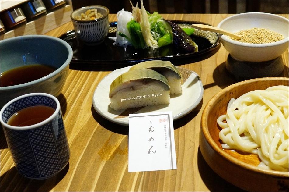 12御麵與鯖壽司套餐