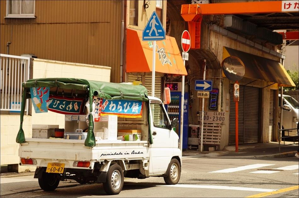 28蕨餅叫賣車