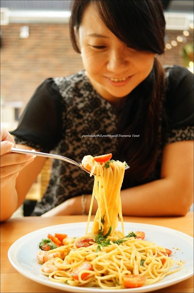33烏魚子鮮蝦芝麻菜圓直麵3